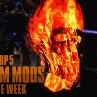 top 5 skyrim mods of the week - ghost rider vs. titan weapon