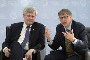 Stephen Harper announces $22.5M to boost inoculation programs in poorer countries