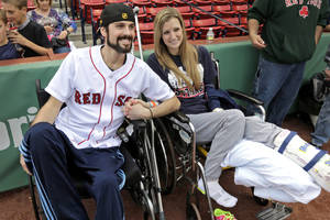 Couple wounded in Boston Marathon bombing separates
