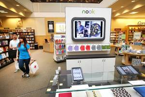 Barnes & Noble abandons plan to spin off Nook business